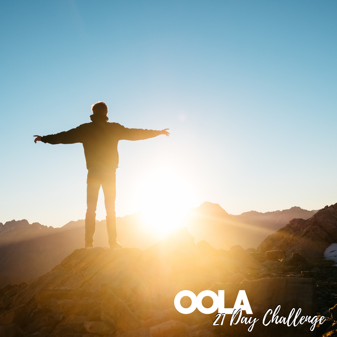 The Oola 21 Day Challenge from Positively Powerful Life